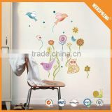 Fashion none-toxic wall decal, cartoon animal 3d wall sticker