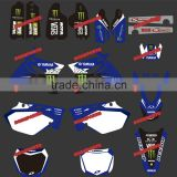 Dirt Bike Stickers&Motorbike&Motocross Stickers for YAMAHA YZ125-250 Motorcycle suit 2002-2010&2011 2012 2013 2014 (DST0003)