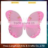 Wholesale kids dress up party dance wings beautiful fairy wings for promotion