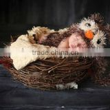 Baby Boy Hat TOO CUTE Newborn Baby Boy Crochet Fuzzy Owl Hat Owl Hat 0 3 6 9 months