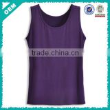 Ladies Modal Cotton Purple Tank Top Shirts (lyt-060070)