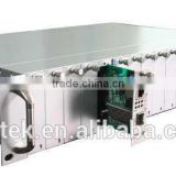 high quality 60KM card type media converter insert to 2u rackmount server chassis