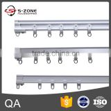 China Supply pvc curtain rail with curved hospital curtain track