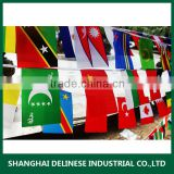 Promotional plastic hand waving flag