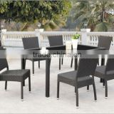 Cane Outdoor Furniture Factory -Rattan Dining Table Set FCO-2477