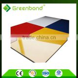 Greenbond high gloss color PE coating insulated aluminum composite advertising signboard