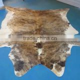 Genuine hair-on cowhide carpet,patchwork carpet rug