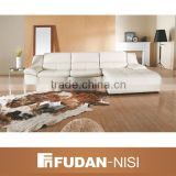 Indian indoor furniture white leather sectional sofa modern                                                                         Quality Choice