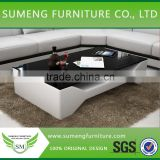 Foshan factory short leg french baroque furniture coffee table