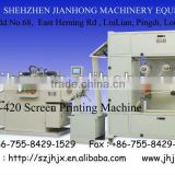 JH-420 CNC Roll-to-Roll silk Screen Printer, screen printing machine with width max 420mm