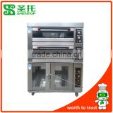 Shentop STPL-J12F24 bread oven with Proofer bakery equipment in china bread fermentation machine electrical 4 deck oven                                                                         Quality Choice