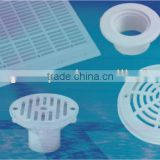 swimming pool suction fitting/ drain cover/ gutter drain/ wall return