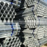 Hot dip Galvanized steel Pipe/tube For Building With BS 1387 Standard (Q195/Q215/Q235/Q345)
