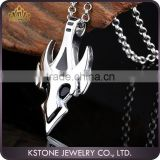 KSTONE 2015 FashionJewelry 316L Stainless Steel Personality Punk Skull Pendants for Cool Men