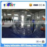 SUNJOY 2016 new designed pvc inflatable beach ball, zorbing ball price, inflatable ball costume for sale