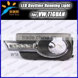 Factory sale for Volkswagen auto car parts for Tiguan Headlights, 12V LED daytime running light for VW 7000K ultra bright