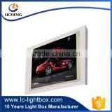 OEM design waterproof LED light wall mounted sign box for advertising