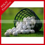 Plastic Practice red colored golf balls