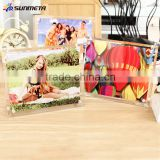 Sunmeta factory supply beautiful gift blank sublimation glass photo frame (BL-09)