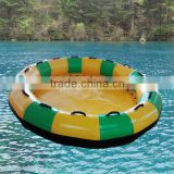 0.9mm pvc tarpaulin 5 people inflatable water ski pool