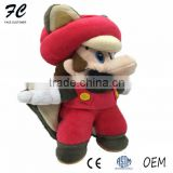 Custom plush toy the red and green bat Mario creative toy for children