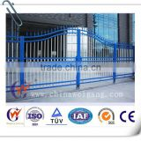 Modern outdoor iron mesh fence gate