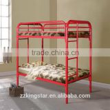 Metal personal hostel furniture school dormitory bunk bed rail simple metal bunk bed