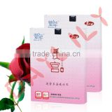woman body care 100% Superior Non-Woven Cotton of Daylily Heating Uterus Patch to warm womb