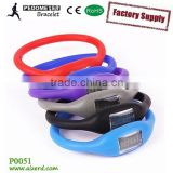 New product wrist band step counter pedometer for kids