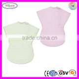 E079 Summer Infant Wearable Blanket Baby Comfy Cotton Wearable Electric Blanket