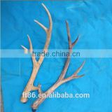 Factory supply man-made plastic deer antler for ornaments