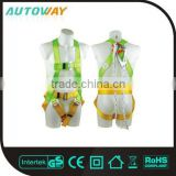 Industrial Safety Full Body Harness With Lanyard