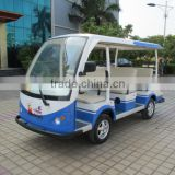 Chinese 4 wheel elegant big power passenger electric shuttle bus