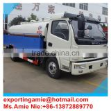 6 wheels dongfeng 5tons vacuum sewage pipe cleaning truck