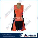 hot sale netball uniform, netball dress, netball bibs