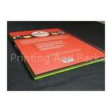 Casebond Hardcover Book Printing Services PMS Color For Entertainment , printing art books