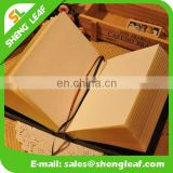 Hardcover notebook with embossed custom logo notebook factory