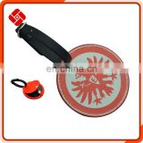 Various styles pu custom round luggage tag