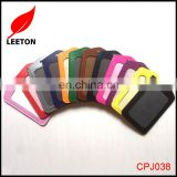 Factory supply double sided leather ID card holder