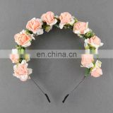 Flower Garland Floral Bridal Headband