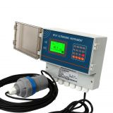 Digital high precision industrial ultrasonic deep well water liquid level meter