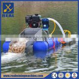 Manufacturer in china provide small sand pumping and gravel pumping dredger