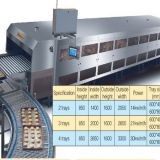 tunnel oven for cake industrial oven electric bread baking oven electrical bakery equipment prices