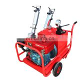 Powerful wheel type hydraulic concrete rock splitter