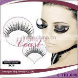 cheap beauty supplies nature looking false fiber eyelash for sale