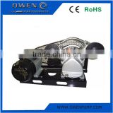 Base plate belt driven electric air compressor without tank