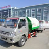FOTON Forland mini hook garbage truck with good price for sale 008615826750255 (Whatsapp)