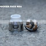 High quality and low price poker face rda taifun gt2 rda SS303 in stock