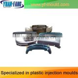 Custom car bumper molding, injection molding car bumper mold