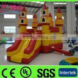 0.55mm PVC tarpaulin inflatable bouncer for sale / inflatable bouncer slide / inflatable bouncer castle